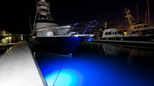led lighting nature boat dock lights imtra marine
