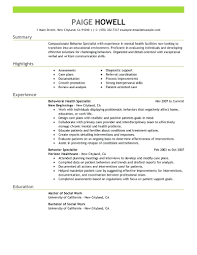 Sample Social Work Resume Template Template Social Worker Resume Templates Free Behavior 27