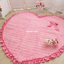 wondrous design girls area rug nice baby girl room rugs cievi home round nursery circular large