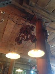 American Restoration Lights Out Lighting Restoration Like American Pickers Barn Hay Loft