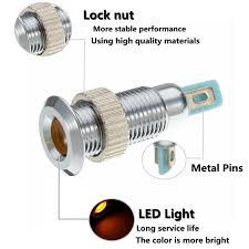 Universal Pilot Light Us 1 83 1pcs Universal 24v 8mm Metal Led Dash Panel Warning Indicator Pilot Light Waterproof For Car Auto Truck Rv In Signal Lamp From Automobiles