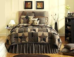 quilt bedding sets star primitive queen king cal king quilt bed set by brands quilt sets