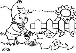 Small Picture Noddy Waters the Garden Coloring Pages Color Luna