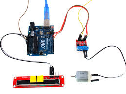 hcmotor arduino library for driving dc and stepper motors
