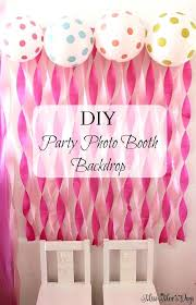 diy birthday decorations princess party miss days favors