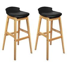 Wooden stools with back Arms Modern Stool Amazoncom Wooden Simply Bar Stools