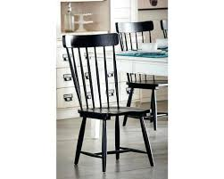 black spindle chair set of two 2 farmhouse back side chairs we ship pottery barn