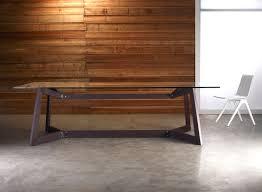 argyll ″ dining table base by modloft