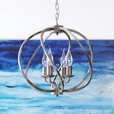 sargas vtc31104sn 16 led chandelier industrial globe chandelier light with led filament bulbs adjule hanging light