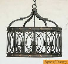 italian wrought iron chandelier lights of 6 transitional french zoom style
