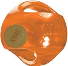 <b>Игрушка</b> для собак <b>KONG Jumbler Ball</b> (пищалка)
