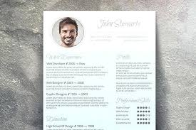 Fancy Resume Templates Magnificent Fancy Resume Template Free Cv S Templates Vancouvereastco