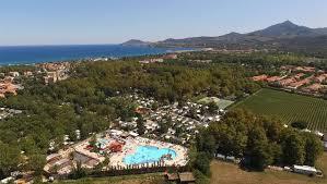 argeles la chapelle campsite roussilllon swimming pool waterslides camping la chapelle argelas sur mer languedoc