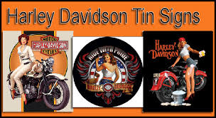 Harley Davidson Signs Decor Photo Harley Davidson Floor Tile Images RaceDeck Garage 94