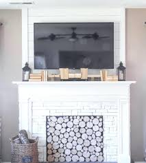 white fake fireplace faux fireplace with brick effect fake white fireplace mantel