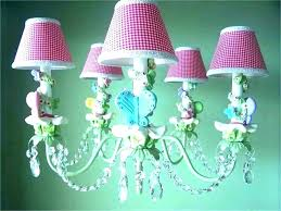 archaicawful pink chandelier girls room for little girl room baby girl light antique pink chandelier