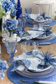 Blue And Gold Table Setting 17 Best Ideas About Blue Table Settings On Pinterest Table