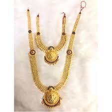 23 carat designer gold necklace