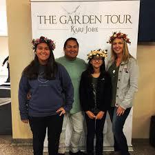 jesse attended kari jobe garden tour on nov 19th 2017 via vettix