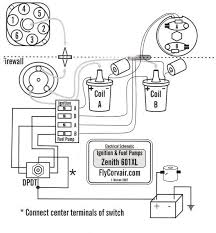 d p ignition systems p n 3301d p flycorvair above is a wiring diagram that shows the basic layout of my ignition system this page is taken from our 601 installation manual so it includes some of the