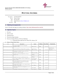 Unique Pack Meeting Agenda Template Embellishment - Resume Ideas ...