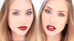 autumn fall everyday glam makeup tutorial for pale skin stephaniemaii you