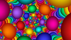 colorful bubbles multicolor abstract