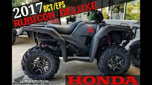 2018 honda 4 wheeler. exellent 2018 2017 honda foreman rubicon deluxe 500 dct  eps atv  walkaround video  matte gray trx500fa7h  youtube for 2018 honda 4 wheeler r