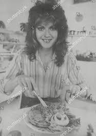 Louisa Desborough Tucking Into Snack Cabin Cafe Editorial Stock ...