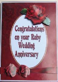 40 years wedding anniversary gifts see our suggestions Congratulations Your Wedding Anniversary congratulations on your ruby wedding anniversary congratulations your wedding anniversary quotes