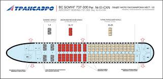 Transaero Russian Airlines Aircraft Seatmaps Airline