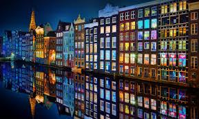 カラフルなアムステルダム