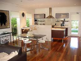 kitchen and living room designs photo of good apartment kitchen living room design open plan plans