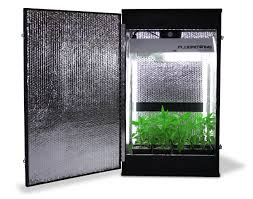 Hydroponic Grow Cabinet Grow Box Cabinet Growing Systems By Fullbloom Hydroponics