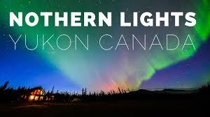 Yukon Lights Hours Northern Lights Yukon Canada Aurora Polaris Time Lapse Photography