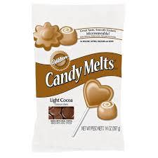 Wilton Light Cocoa Candy Melts Amazon Com 2 X Wilton 12 Oz 340g Light Cocoa Candy Melts