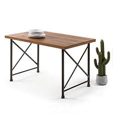 Industrial style furniture Stand Image Unavailable Amazoncom Amazoncom Zinus Alicia Industrial Style Dining Table Tables