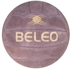 match real leather football
