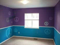 blue and purple bedrooms for girls. Simple Girls This Looks Easy I Can Do U003d Different Colors For Eva For Blue And Purple Bedrooms Girls E