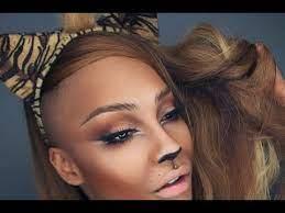 lion tiger makeup tutorial