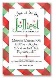 Party Borders For Invitations Plaid Party Border Personalized Holiday Invitations