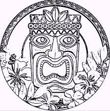Small Picture Coloring Pages Tiki Coloring Pages Printable Coloring Pages