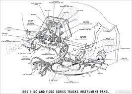 1965 ford truck wiring diagrams fordification info the 61 66 1965 f 100 and f 250 series truck instrument panel