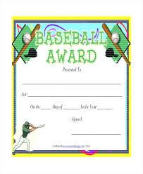 softball award certificate baseball award certificate template free softball templates for word