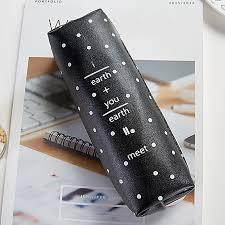 cute cartoon stationery pencil pen case cosmetic makeup bag zipper pouch case c