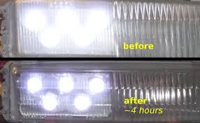 Diy Led Fog Lights Diy Glass Lens Polishing Restoring Turbo S2 Fog Lights