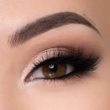 pretty and natural makeup brown eye 32