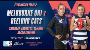 Melbourne Uni vs Geelong Cats ...