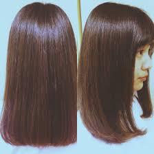 ワンレングススタイル くせ毛でダメージ毛でパサパサの髪だったのです