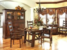 dining room beautiful idea for decoration using rectangular mahogany wood farmhouse table along with black iron